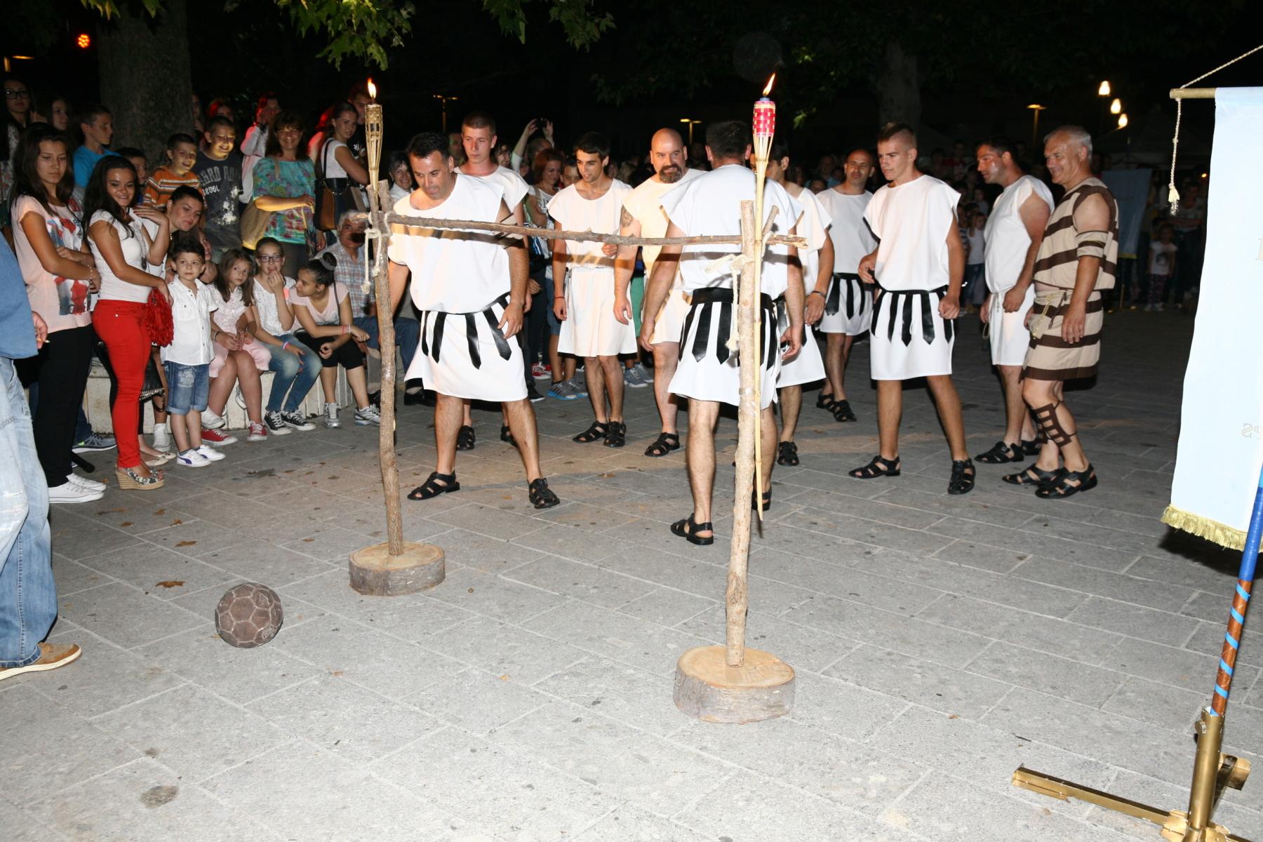 Uzbudljiva utakmica Delmata protiv Rimljana