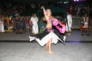 Solo točka trbušnog plesa