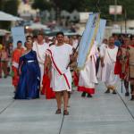 Povorka Delmata i Rimljana