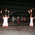Zabavljači i žongleri s vatrom